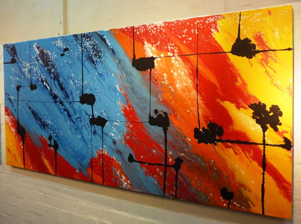 Using Abstract Artworks For Interior Design By Ivana