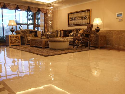 Marble flooring by ivana radovanovic al rousan for Living room floor designs pictures