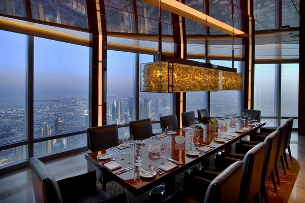 Burj khalifa restaurant